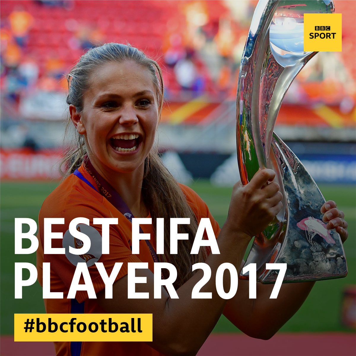 The winner of the best Fifa women's player is... Lieke Martens! 🏆 http...
