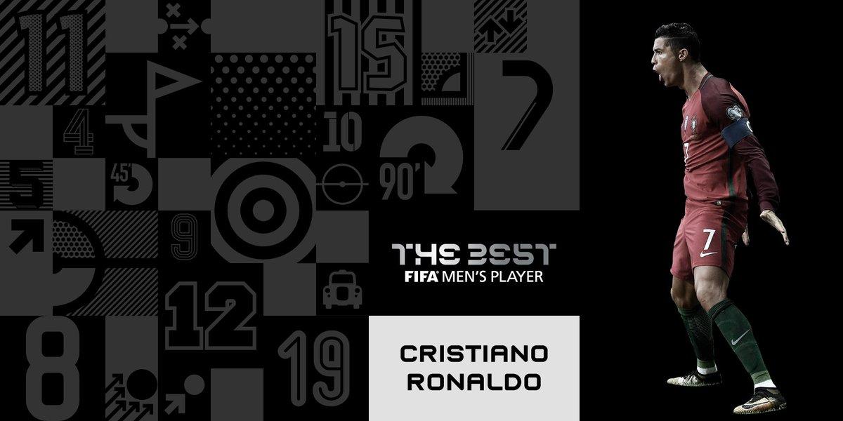 Parabéns, 🇵🇹 #Cristiano! 🙌⁰  Ganador del Premio #TheBest 🏆 al Jugador de la FIFA 2017.