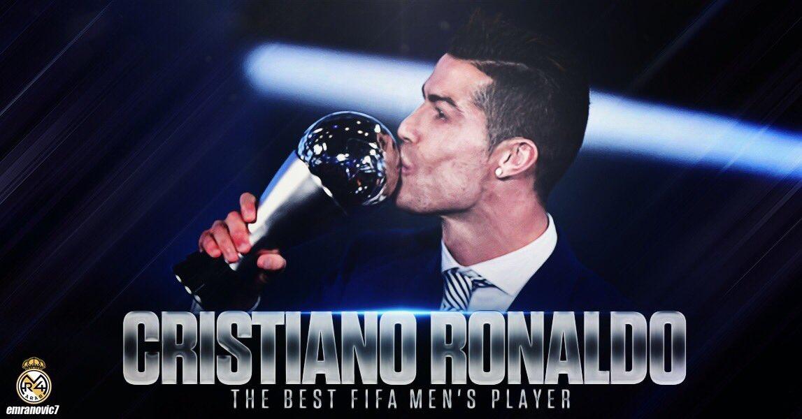 رسمياً : الأسطورة كريستيانو رونالدو يفوز...