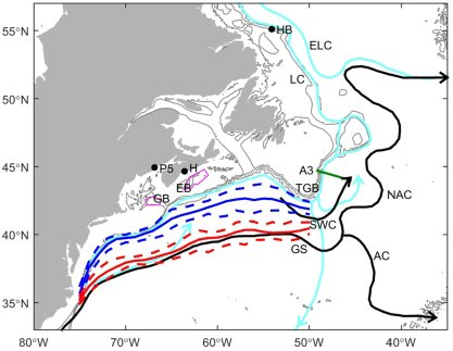 Our study shows the effects of #winds on #water masses and positions of #GulfStream north wall and Shelf Slope Front  http:// onlinelibrary.wiley.com/doi/10.1002/20 17JC012788/full &nbsp; … <br>http://pic.twitter.com/4vHGsOOy3j
