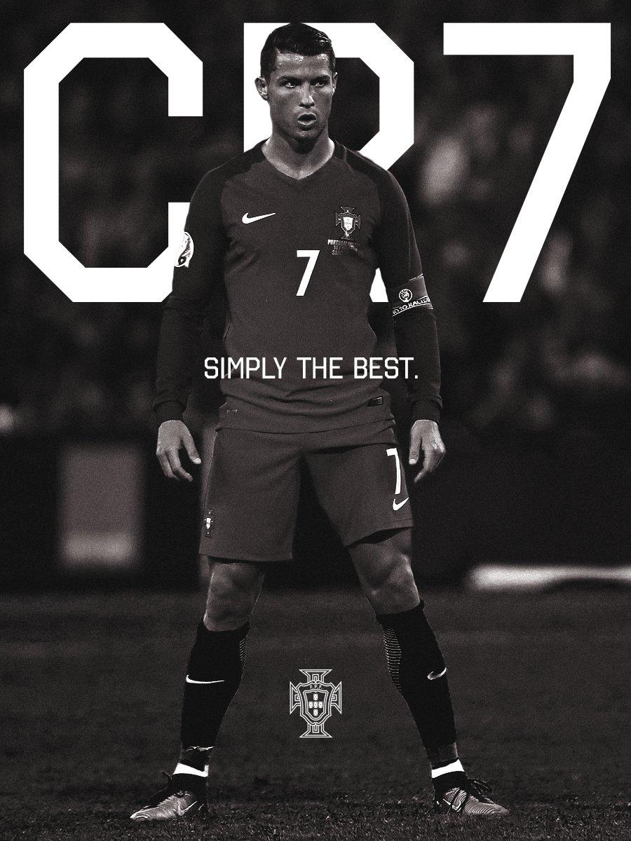 .@Cristiano é o melhor jogador do Mundo! Orgulho tremendo no nosso Cap...