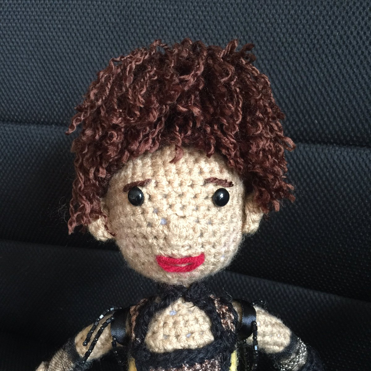 Violetta: wonderful curly and purple hairs - amigurumi | 1200x1200