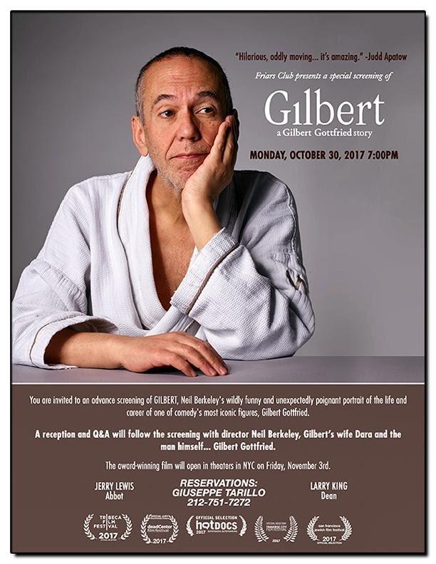 Who&#39;s the man behind that signature voice? See #film GILBERT at @friarsclub w/ #qanda featuring @RealGilbert @neilpberkeley Dara Gottfried!<br>http://pic.twitter.com/TJKpQj8Bxh