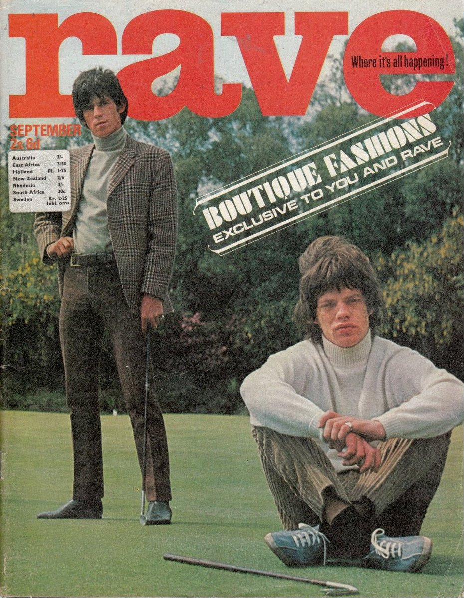 The Rolling Stones hate #golf. Really, really hate it...  Rave magazine, September 1965 <br>http://pic.twitter.com/9afsxd643q