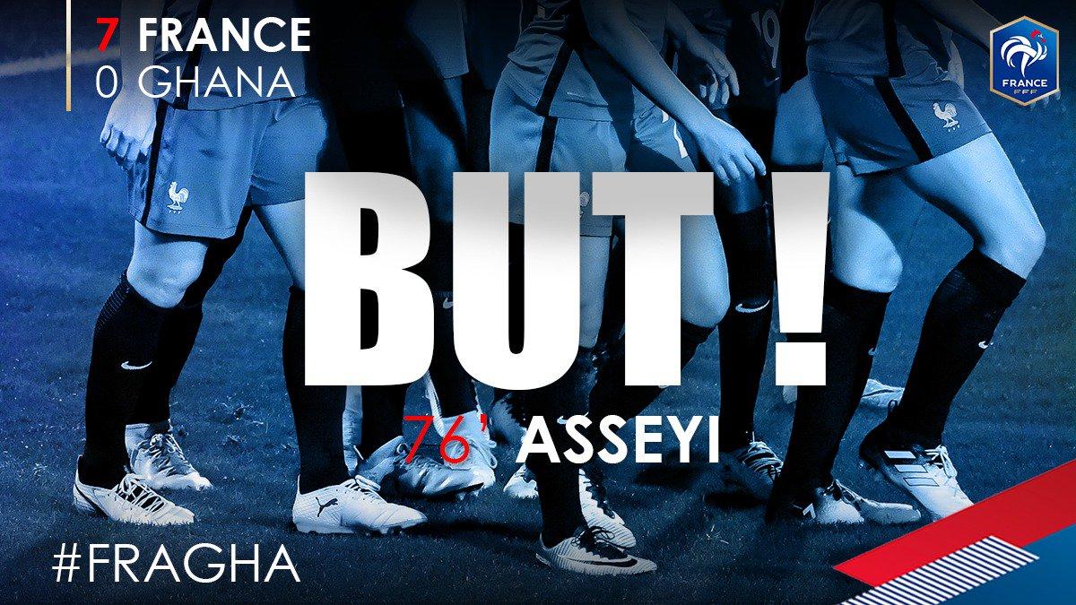 7-0 !!!! Viviane Asseyi !! #FRAGHA https://t.co/9dxKenUKfS