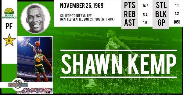Happy birthday Shawn Kemp