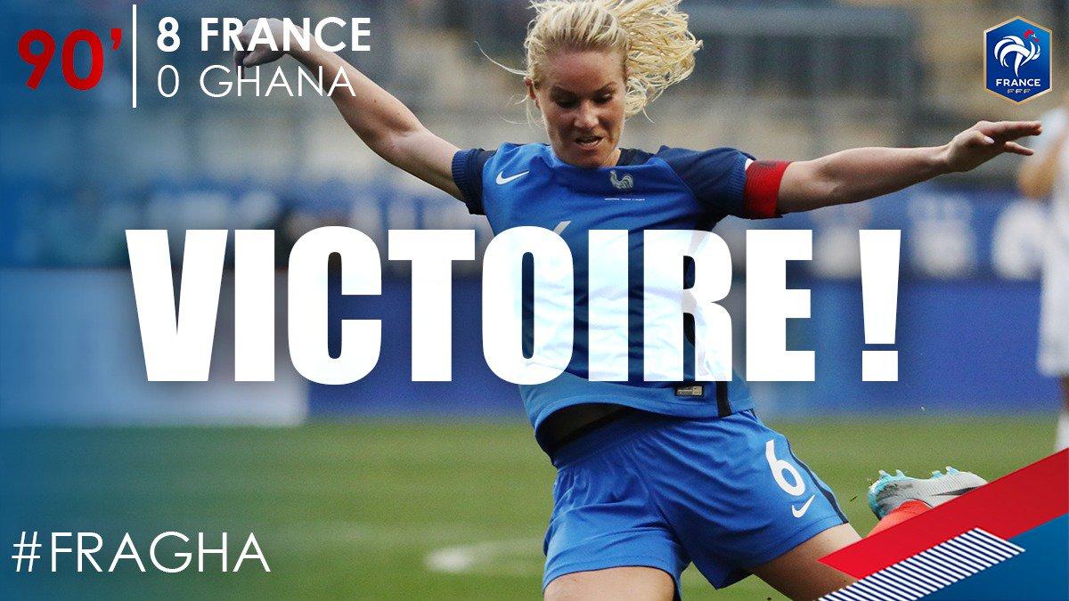 Victoire de l'Equipe de France ! 8-0 !! #FRAGHA #FiersdetreBleus 👊 htt...