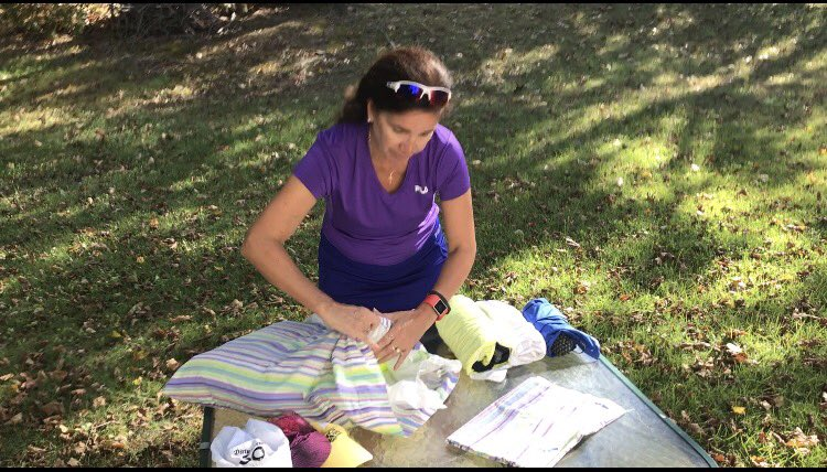 Packing your #ultrarunning clothes before flying to your next #ultramarathon Click on my FB video link in profile! #pillowcase #pinandroll<br>http://pic.twitter.com/GdtGfpPzPO