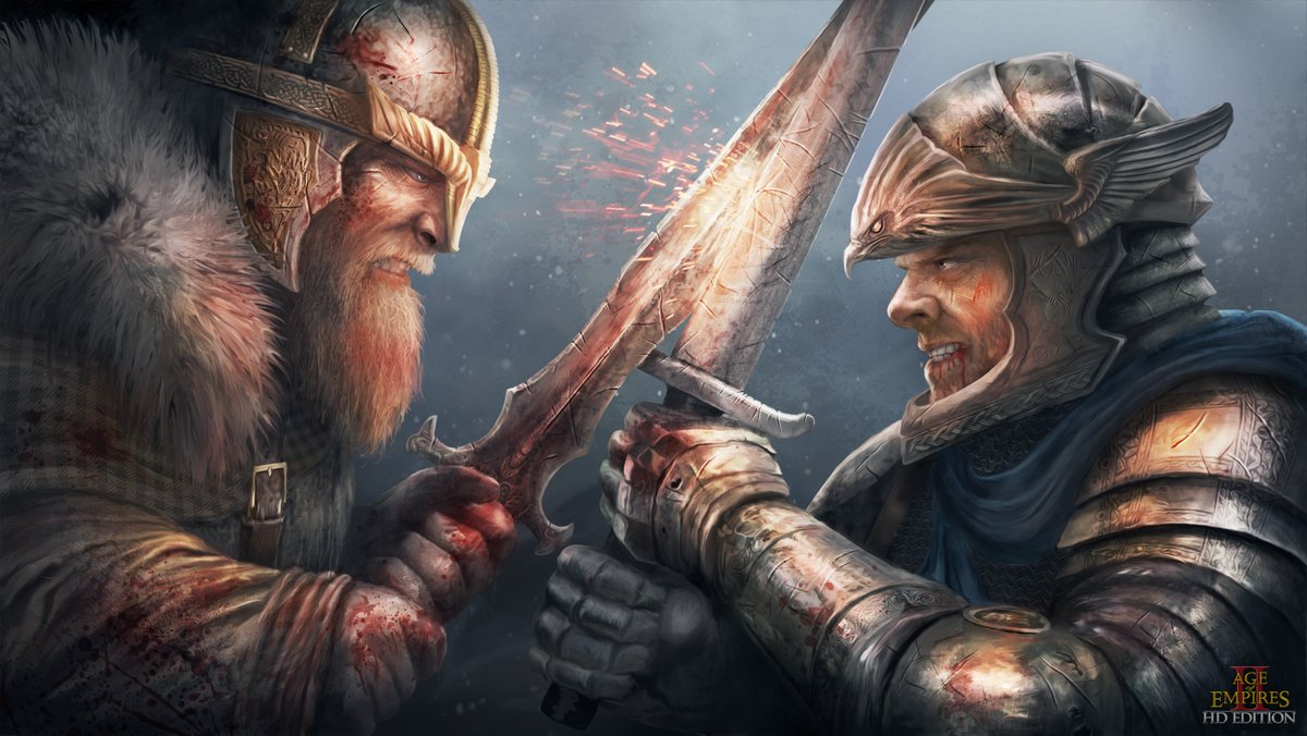 Ageofempires On Twitter It S One Of Our Wallpapers For Aoe Ii Hd