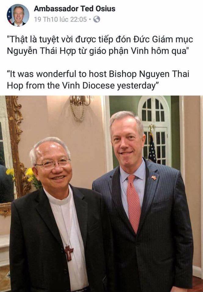 Không chào đón cựu Đại sứ Ted Osius ở lại ViệtNam https://t.co/0hVqcx...