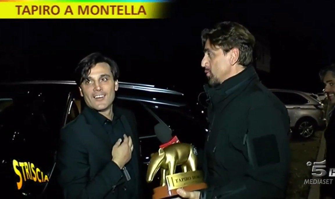 """Montella """"vince"""" il Tapiro d'Oro: """"Ma stiamo giocando bene. Bonucci ... - https://t.co/Q9tp9q9dUx #blogsicilianotizie #todaysport"""