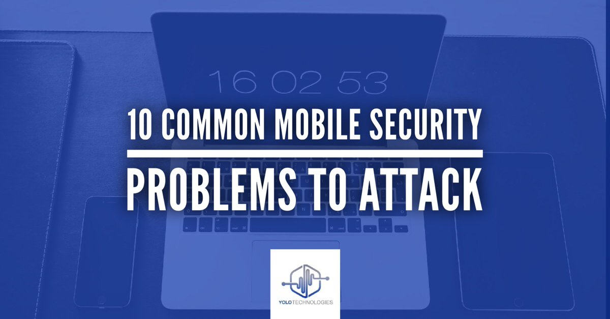 #Viruses aimed at mobile #devices has risen 185%. Here are 10 common #mobile #security problems to attack  http:// ow.ly/Odkh30g4WLQ  &nbsp;  <br>http://pic.twitter.com/o0JqDFzaWK