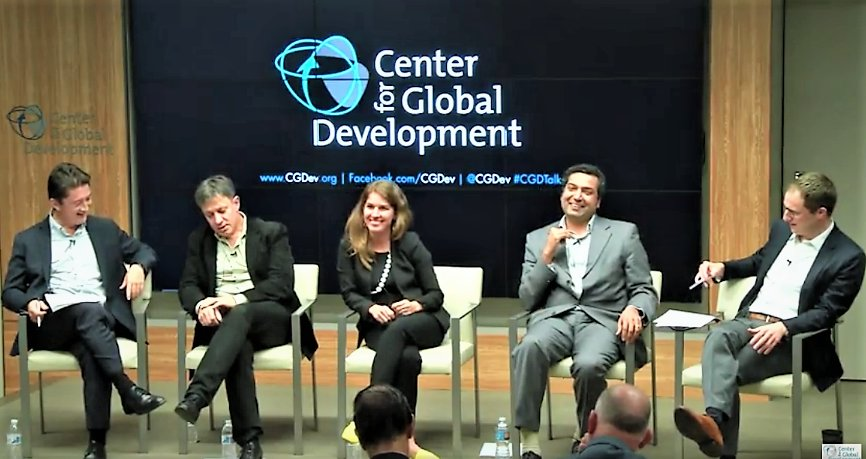 Thank you panelists &amp; audience for another great #CGDTalks on #digitalcurrency/#financialinclusion/#fintech w/ @BitPesa&#39;s @e_rossiello, @IFC_org&#39;s Andi Dervishi, @CGAP&#39;s @GregChenFinTech, @WorldBank&#39;s Harish Natarajan &amp; @MichaelPisa. Full recording here:  https://www. youtube.com/watch?v=5nM3Mt Aq6sg &nbsp; … <br>http://pic.twitter.com/50R6mjpgYi