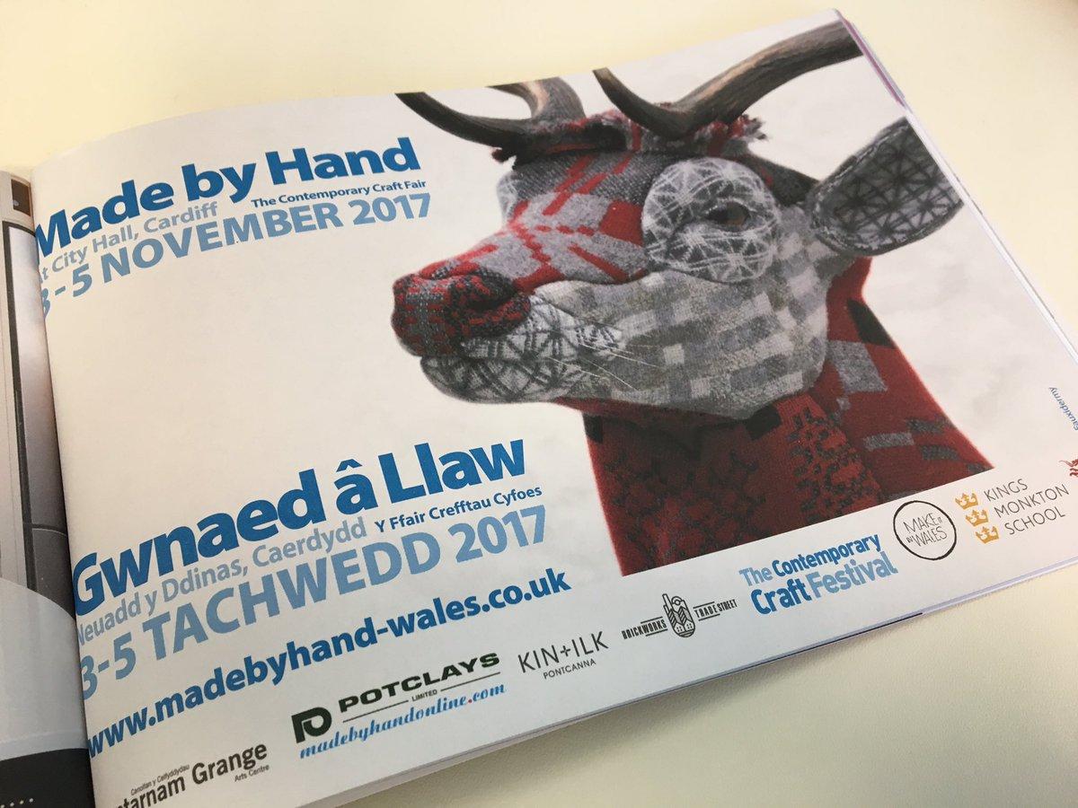 V pleased that @ColegSirGar @CarmSchOfArt @HerefordArtsCol @ArtSwansea @PhotoJ_USW will be joining us at #MadeByHand #Cardiff #FutureMakers<br>http://pic.twitter.com/BV6Apn13V7