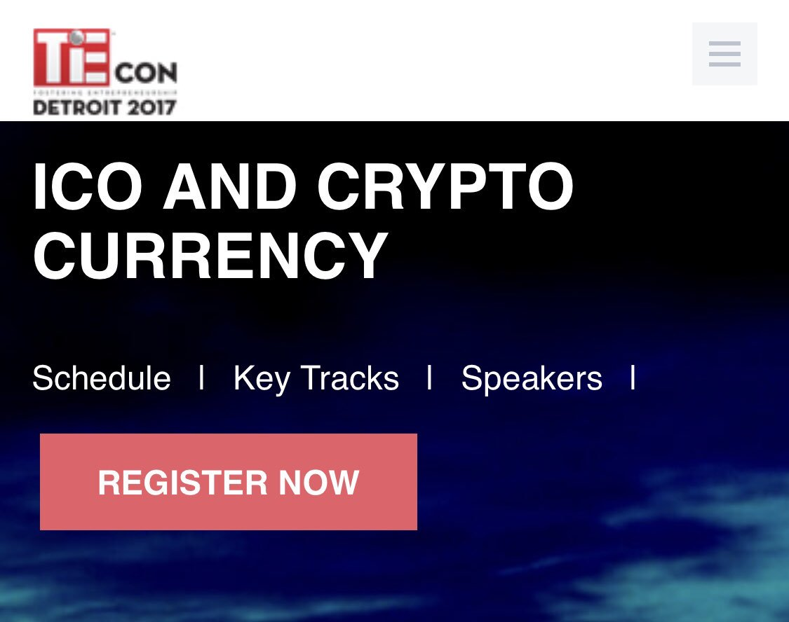 ICO and Cryptocurrency panel   http:// tiecondetroit.org/ico-and-crypto -currency.php &nbsp; …  @TiEDetroit  #bitcoin #cryptocurrency #ico #ETH #realtycoins #blockchain #ethereum <br>http://pic.twitter.com/8czLThYcWt