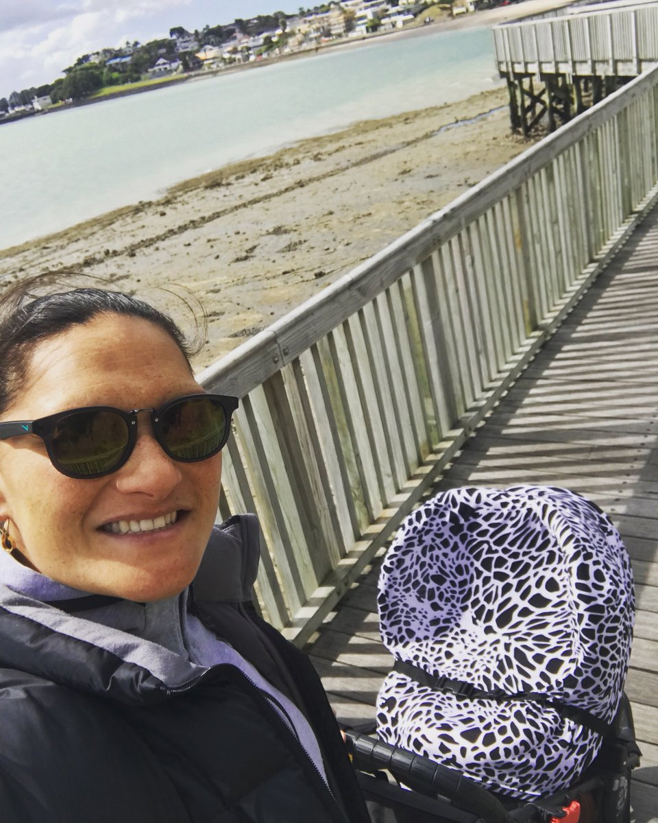 First day riding solo n we managed a nice walk 2 da beach between da showers #freshair #kimoanajosephine #mumlife #myworld #love <br>http://pic.twitter.com/WHcEFrdHIe