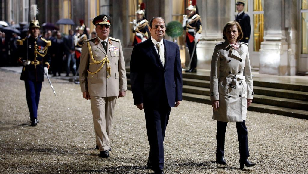 Politique, militaire et économie au menu de la visite de Sissi en France https://t.co/nJmDoaviIS