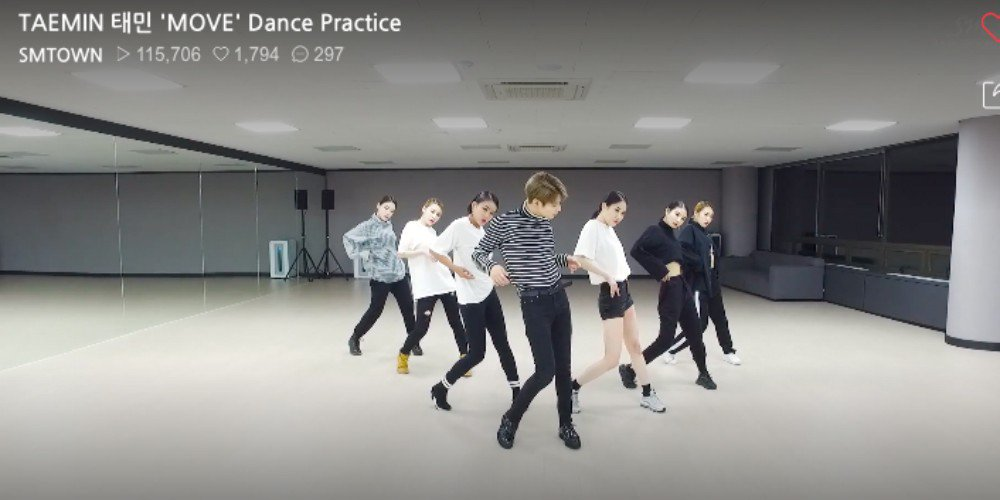 SHINee's Taemin unleashes a sexy dance practice video for 'Move' https://t.co/lflRaNZYJ2
