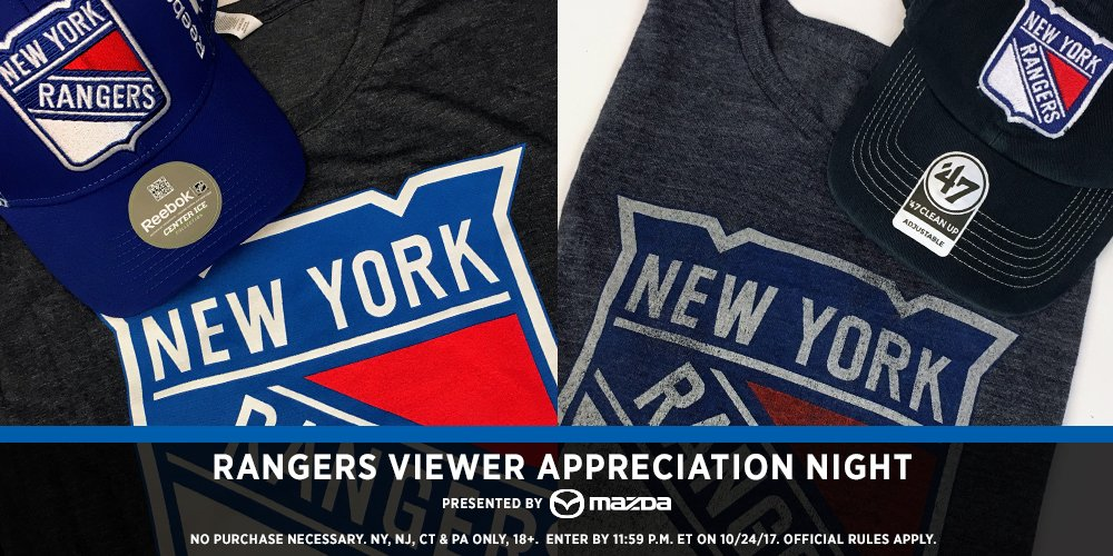 Yay to free hockey stuff! RT this tweet and you may get a #NYR prize pack!  Watch the  on MSG and see if you won some swag.