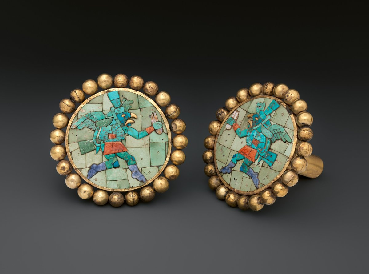 #MetKids fun fact: In ancient Peru, boys and girls in high-ranking families wore large earflares. https://t.co/0XlpsvcKAz