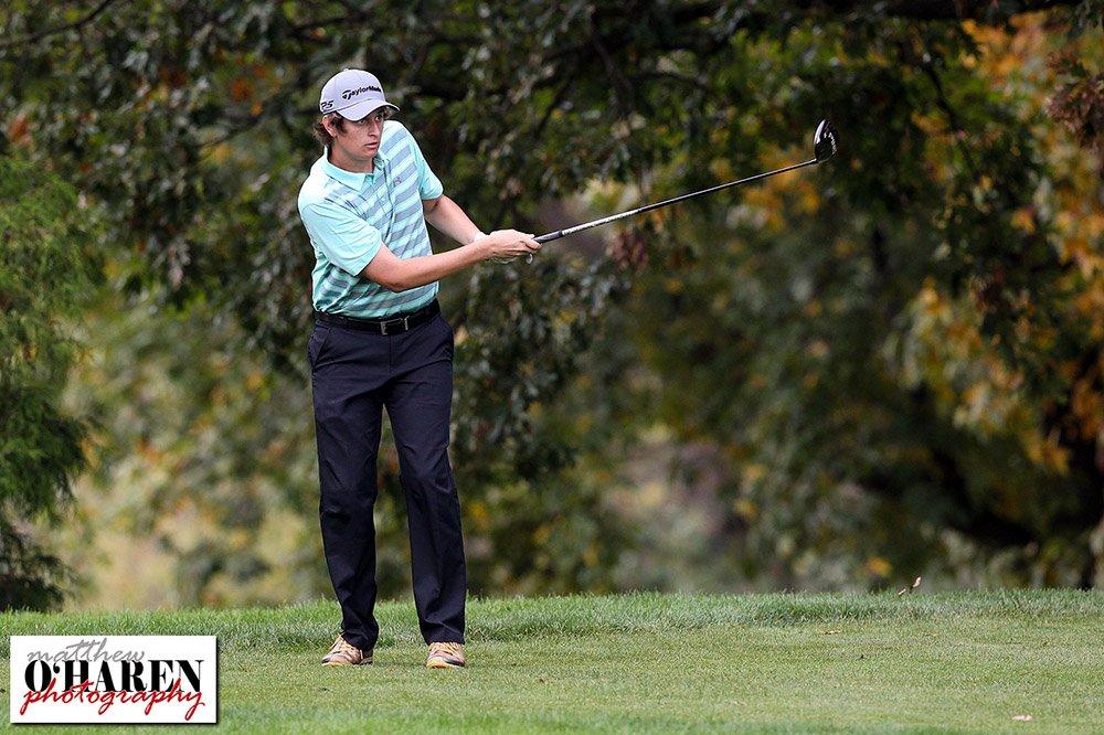 Millersburg&#39;s Garrett Fox competes during day one of the @PIAASports State #Golf #Championships @HHGolfResort @dailyitemsports #digolf<br>http://pic.twitter.com/KutqKcH2jr