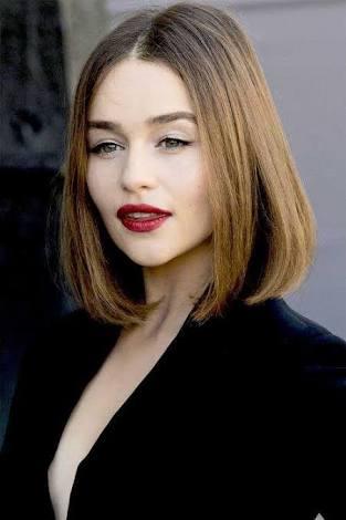 Emilia Clarke Fans On Twitter Big Curly Short Hair