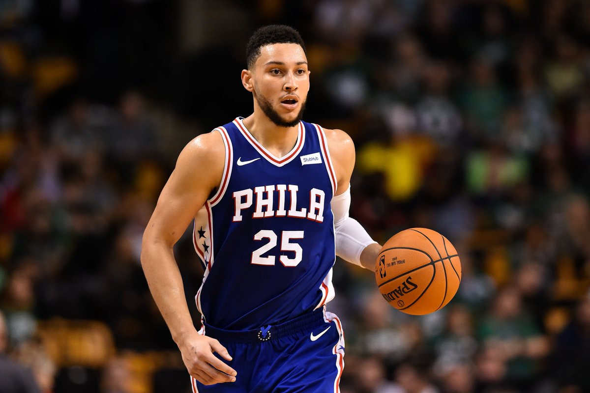 First triple-double for Ben Simmons 👀  2...