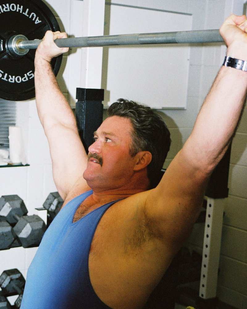 LOOK LIKE THIS GYM BEAR? get MONTHLY SALARY from  http:// ModelingPortfolio.org  &nbsp;   #muscles #incline #bench #pressing #musclebear #moustache #daddy<br>http://pic.twitter.com/cECF0YmqFP