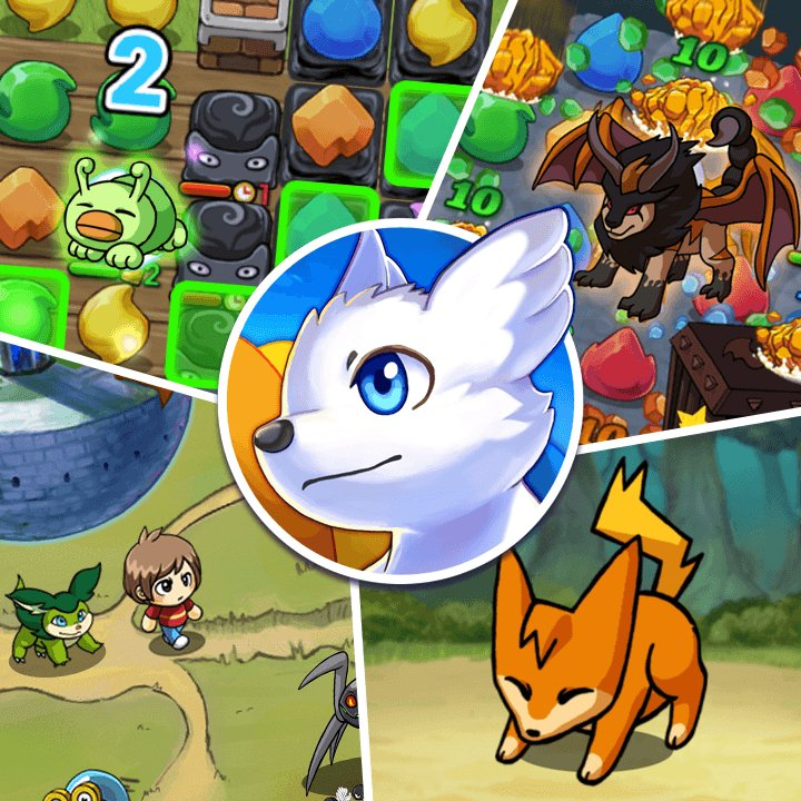 RAINBOW TAIL - the #CandyCrushSaga and #Pokemon hybrid game - is coming out on the #AppStore in 48 hours!   http:// playplayfun.com/rainbow-tail-g ame-official-page/ &nbsp; …   #indiegame #gamedev #collectibles #pets @NightRTs #gameart #gaming<br>http://pic.twitter.com/h0zVkzZBYE