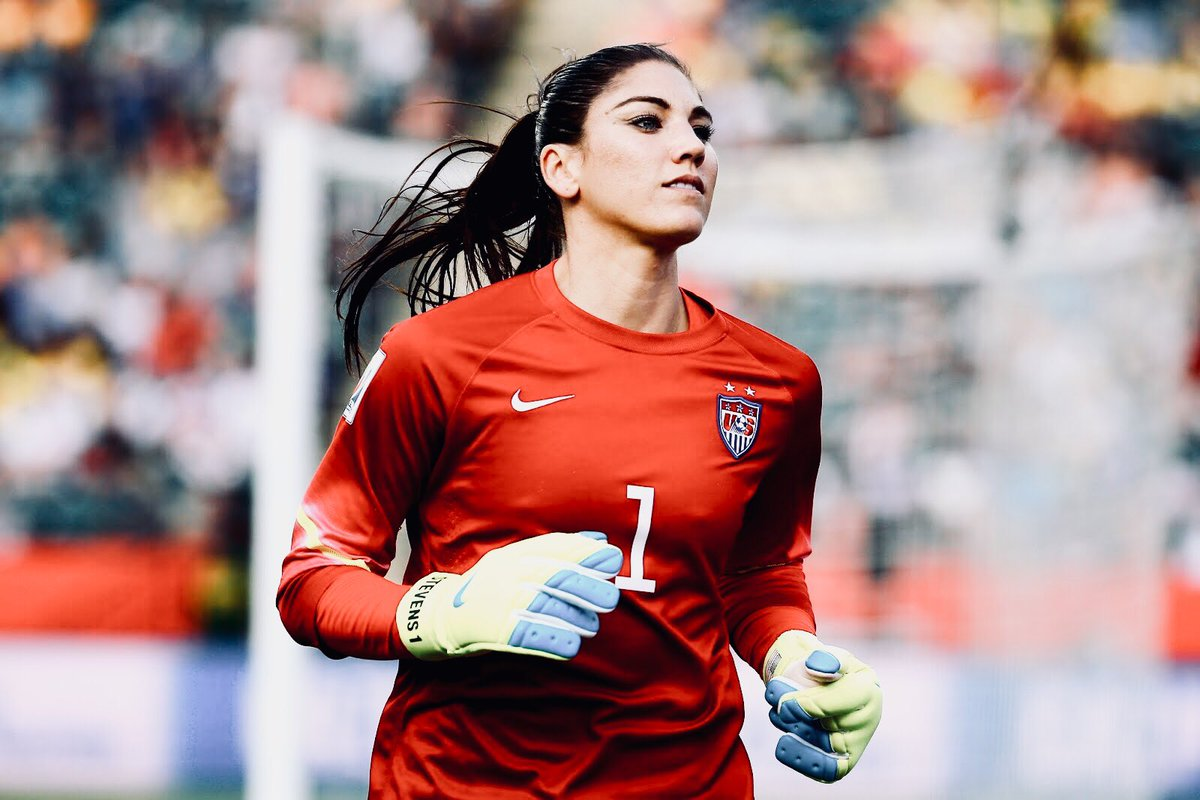 Hope Solo | #USWNT <br>http://pic.twitter.com/qVLm0kcyDd