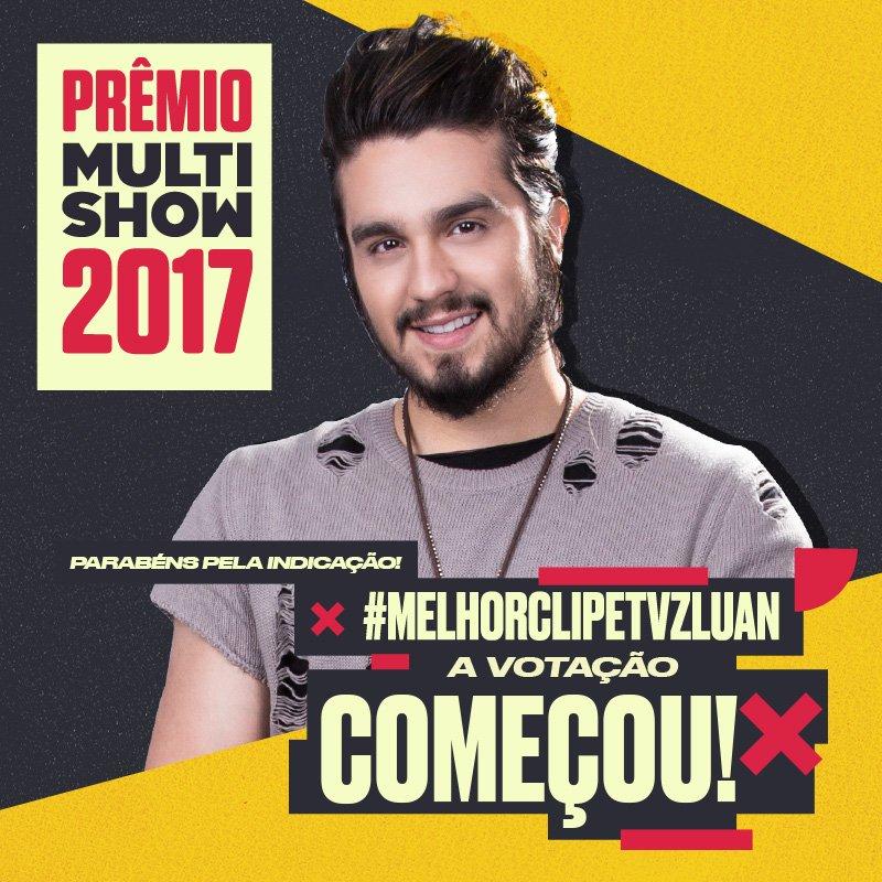 Quer que o @launsantana leve o melhor clipe TVZ? Use a tag #MelhorClipeTVZLuan pra votar no cantor!