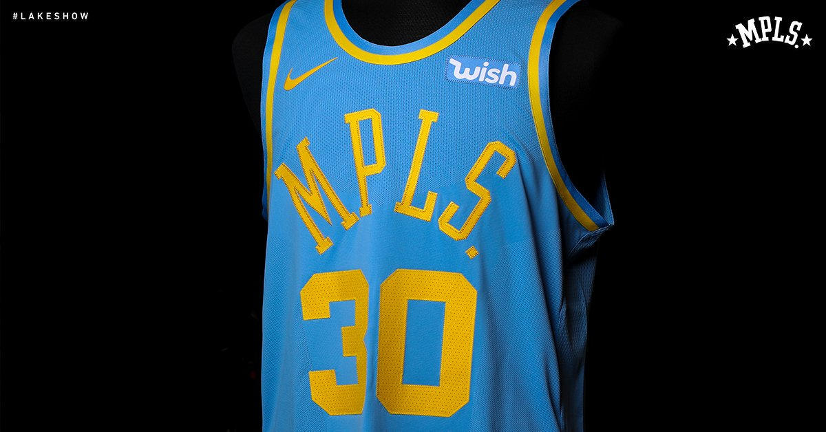 Nike is bringing back the Lakers' MPLS jerseys this season: https://t.co/4Tvcd2zU1C
