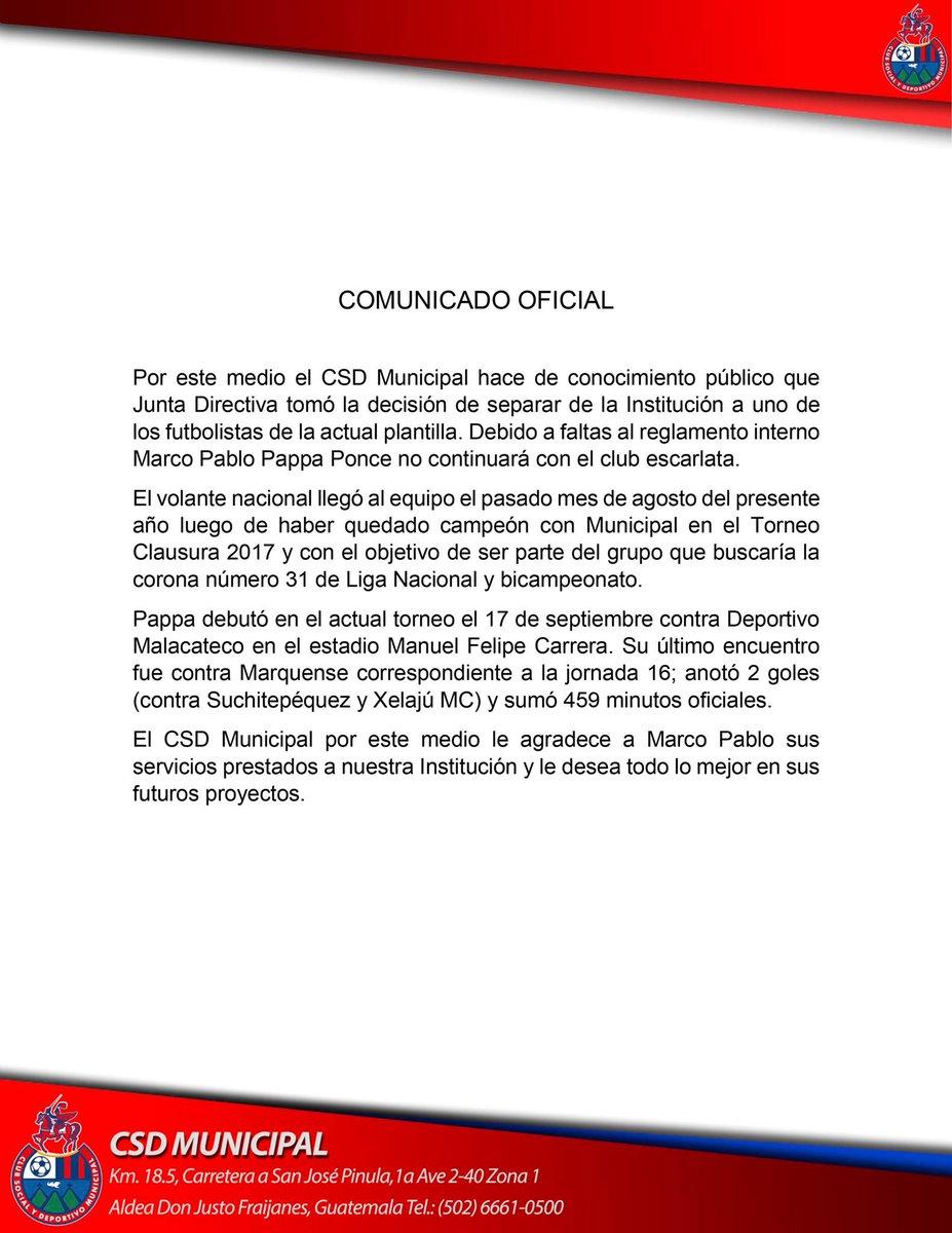 CSD Municipal on Twitter: \