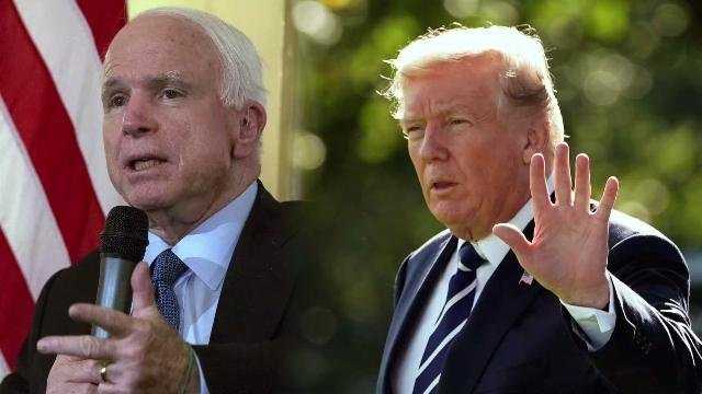 McCain appears to take swipe at President Trump's draft deferment excuse https://t.co/50OzkI8yDY