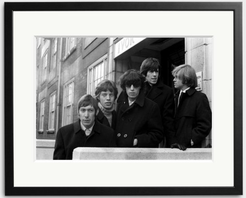 Happy Birthday Bill Wyman - The original members of the photographed in 1962.