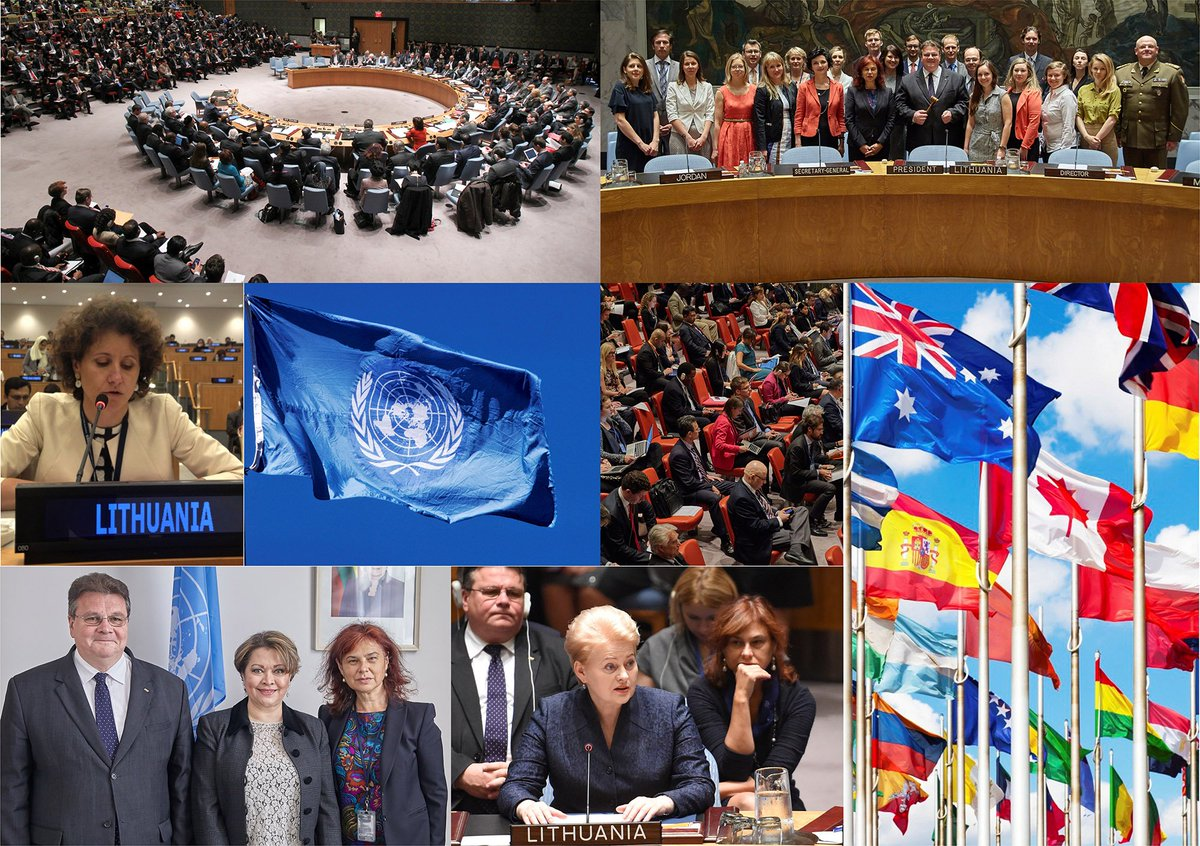 Celebrating #UNDay! Lithuania is committed to work in a more integrated way to achieve sustainable #Peace, #HumanRights &amp; #development  <br>http://pic.twitter.com/tlO3pf3bLn