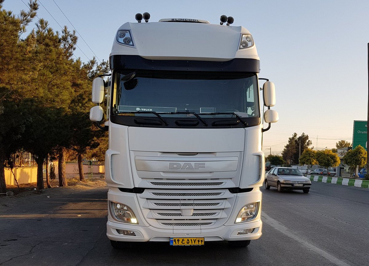 Good morning #truckers. Love these #pics of a #DAF XF sent in from @mostafamahjoobi in Iran.  Where are you driving this #TravelTuesday?<br>http://pic.twitter.com/Dkzqdq2i4I