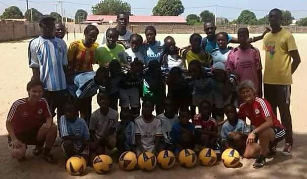 Our partner academy in #Gambia Gilkock FA #Brufut  17 year&#39;s and still going strong. #Grassroots  @sang_mendy well done mate<br>http://pic.twitter.com/5AUgqZLQc9
