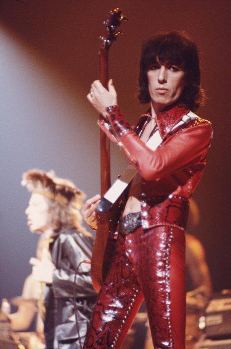 Happy Birthday Bill Wyman - The Rolling Stones.
