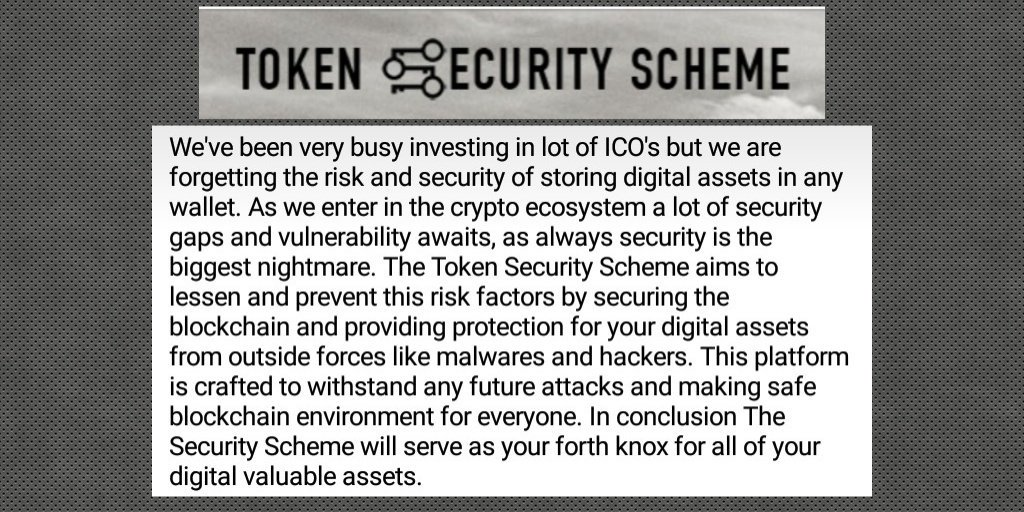 Why #tsstoken is a must participate project. Find out why. #blockchain #ICO @tsstoken  https:// tsstoken.com  &nbsp;    https:// youtu.be/qGKKImro7Vg  &nbsp;  <br>http://pic.twitter.com/VQjhZWP5TJ