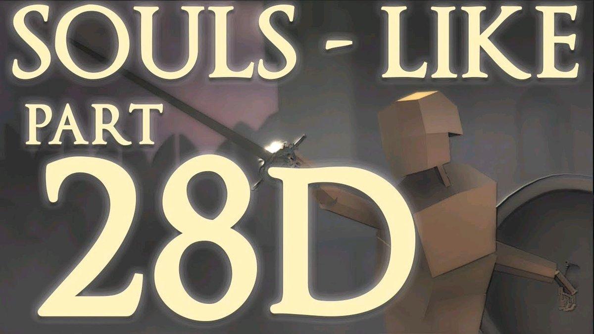 Watch &quot;Souls-like Part 28D - UI Logic #3 - Unity Tutorial (Advanced)&quot; on YouTube  https:// buff.ly/2yHnmTD  &nbsp;   #gamedev <br>http://pic.twitter.com/lvk82i7Tzu