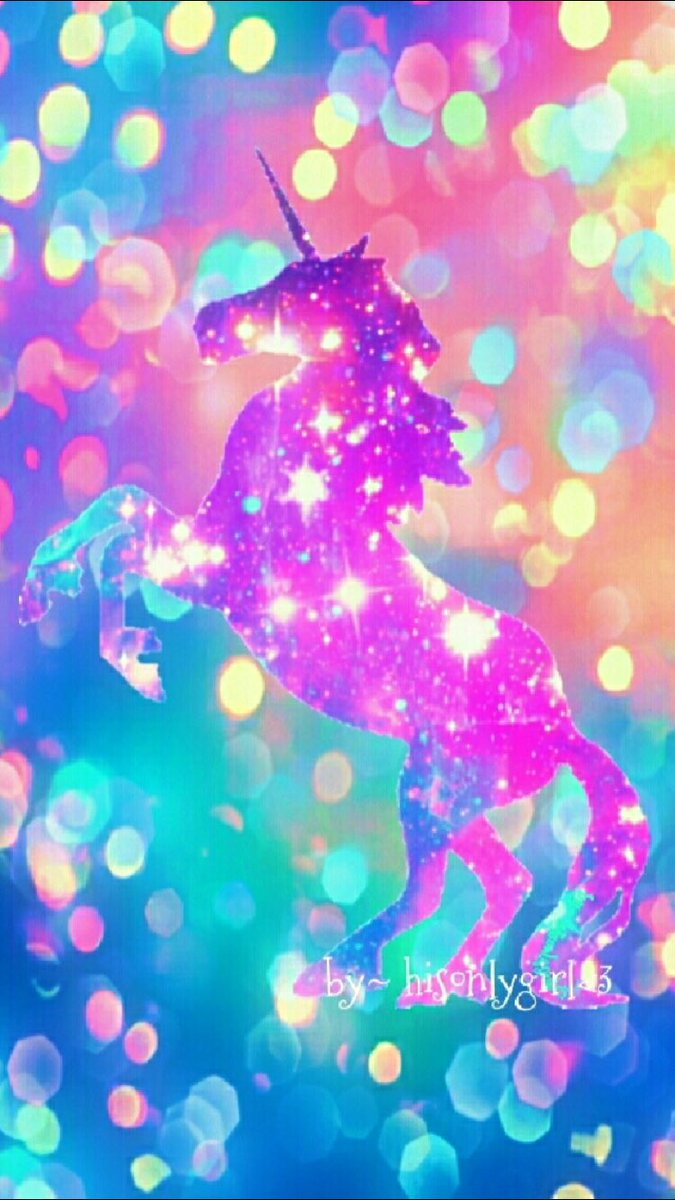 CocoPPa On Twitter Rainbow Unicorn Lovely Night Shine Cute Girls Love Kawaii Pink Beautiful Homescreen Wallpaper Icon