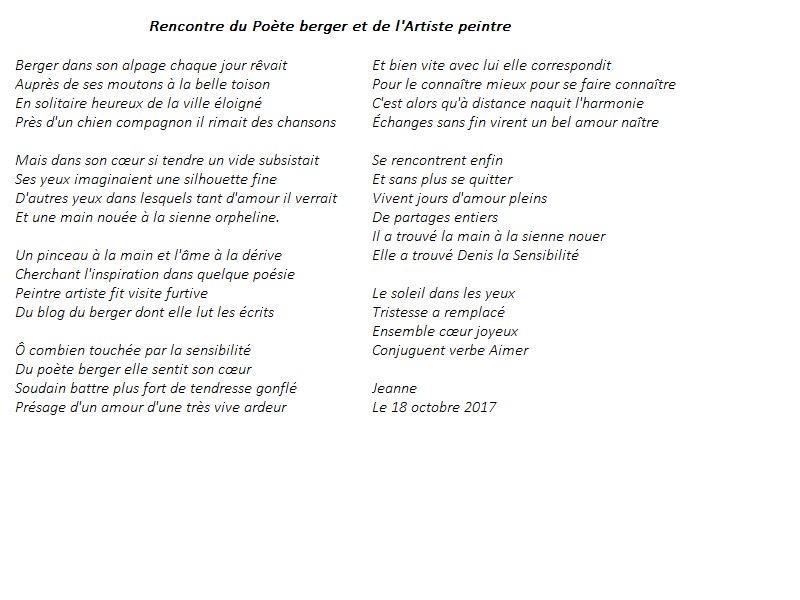 Denis Bertrand On Twitter Rencontre Du Poète Berger Et De