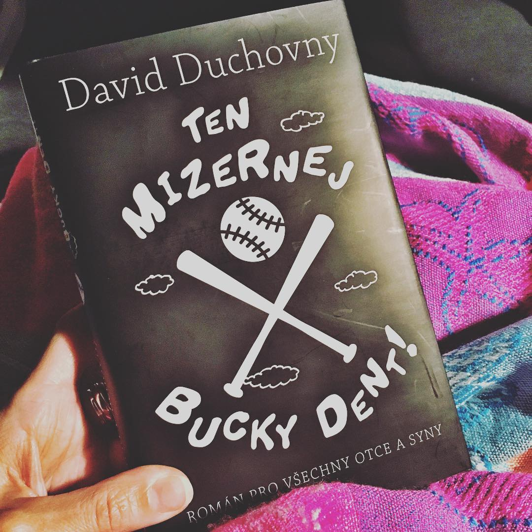 A new translation of your beautiful novel @davidduchovny . Still waiting for my french one  #NeverGiveUp <br>http://pic.twitter.com/WvBYJELxEn
