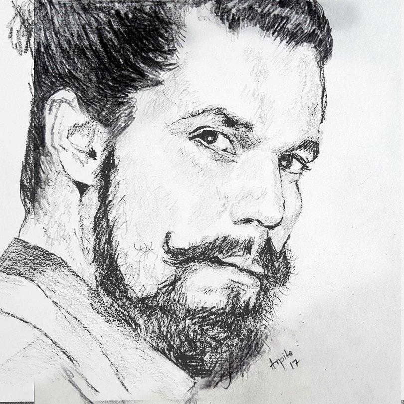 The #Splash Avatar of @RandeepHooda  #Sketch #Drawing<br>http://pic.twitter.com/5li7E5MmWt