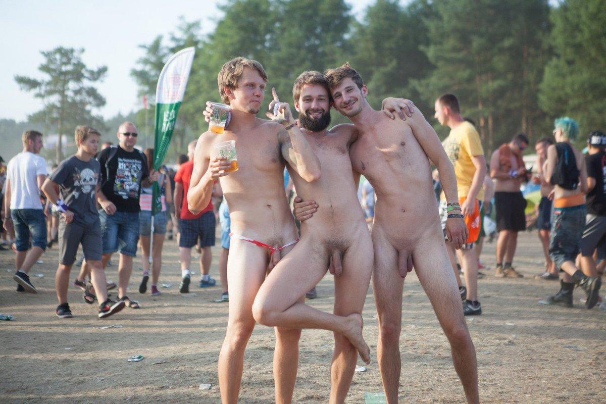 Festival nudity