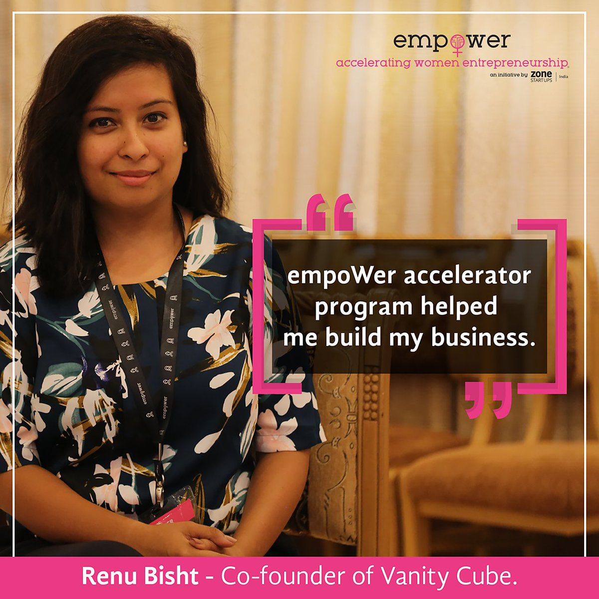 Watch Renu Bisht, Co-founder of @VanityCube talk about the merits of being associated with a #startup #accelerator.  https:// youtu.be/ilCAWCxQ0nw  &nbsp;  <br>http://pic.twitter.com/5Gbnxm5RiM