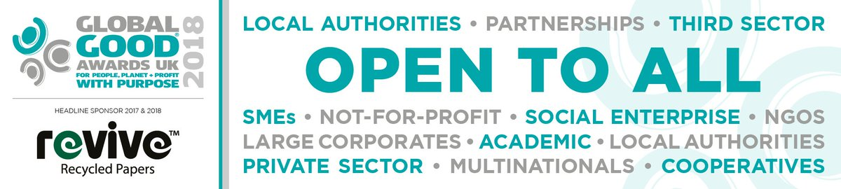 R #awards R open 2 ALL #GlobalGood orgs #SME #corporate #socent #NGO #localgov #thirdsector #cooperatives #academic  http:// ow.ly/YF0P30fQTSP  &nbsp;  <br>http://pic.twitter.com/GZLoKj6mUn