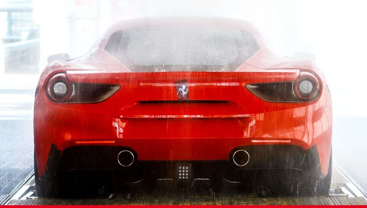 Last touches before hitting the road. #Ferrari #Maranello<br>http://pic.twitter.com/YJYeHEvthW