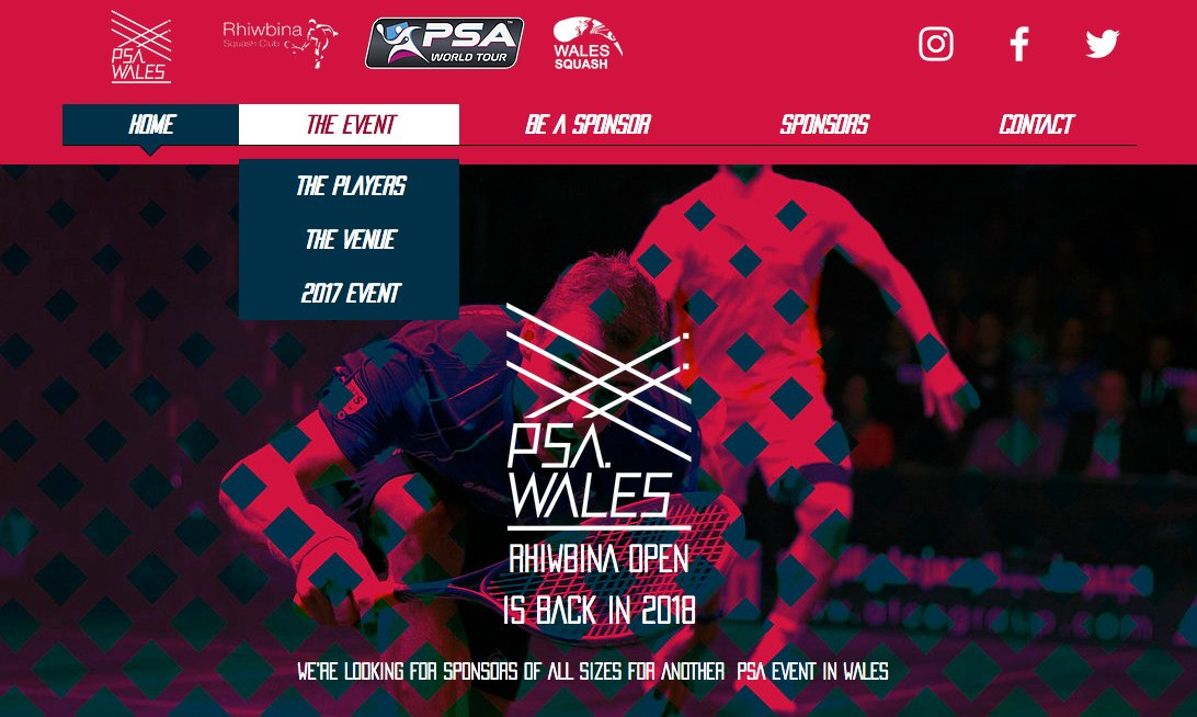 We are delighted to be working with @SquashRhiwbina to promote their @PSAWorldTour event next year in #Cardiff  http:// bit.ly/2yBdCLx  &nbsp;  <br>http://pic.twitter.com/QekhmKaxz8